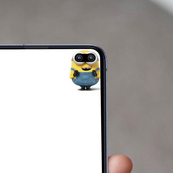 Обыграть вырезы серии Samsung Galaxy S10 оригинально и остроумно – фото 2