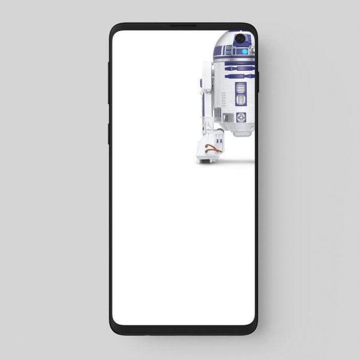 Обыграть вырезы серии Samsung Galaxy S10 оригинально и остроумно – фото 3