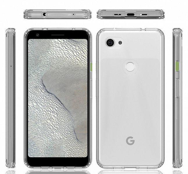 Google Pixel 3a и Pixel 3a XL на рендерах со всех сторон – фото 5