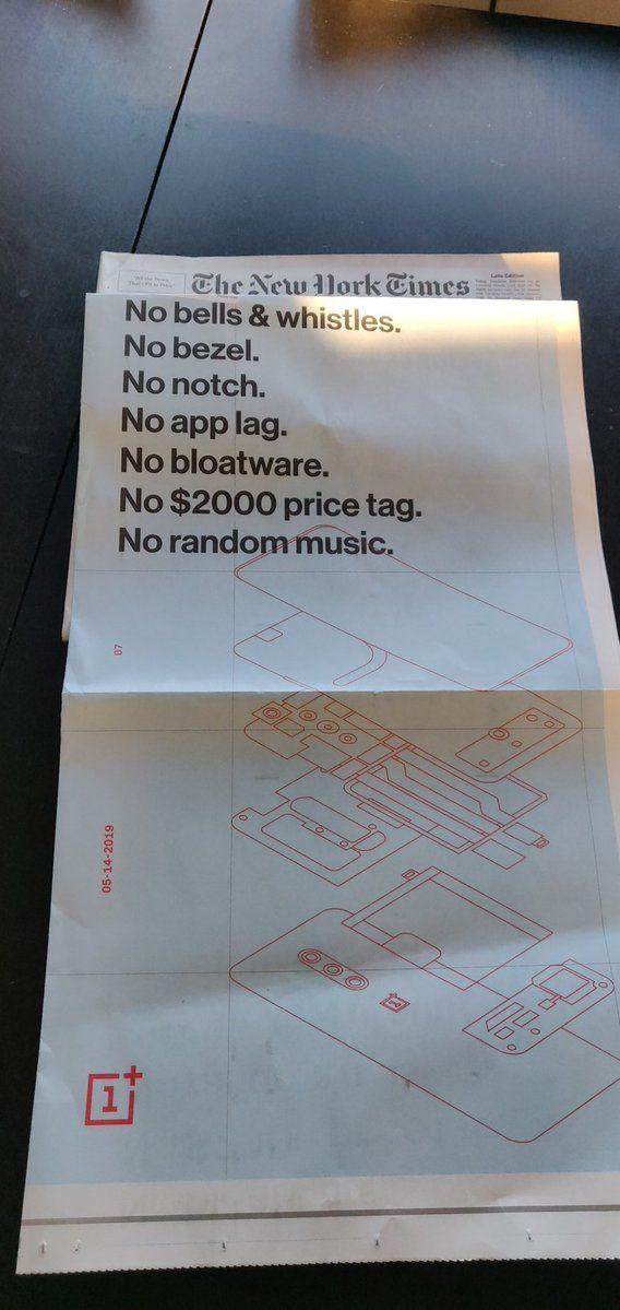OnePlus 7 Pro: фото защитных стекол и реклама в The New York Times – фото 2