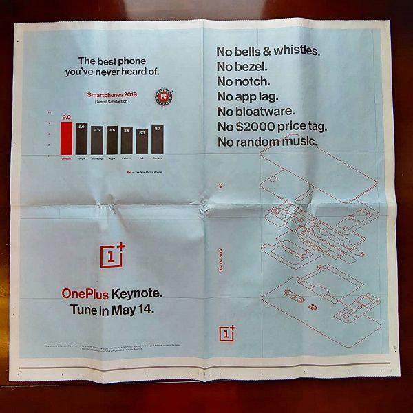 OnePlus 7 Pro: фото защитных стекол и реклама в The New York Times – фото 1