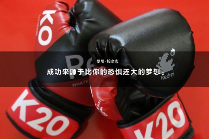 В приглашение на премьеру Redmi K20 компания вложила боксерские перчатки – фото 1