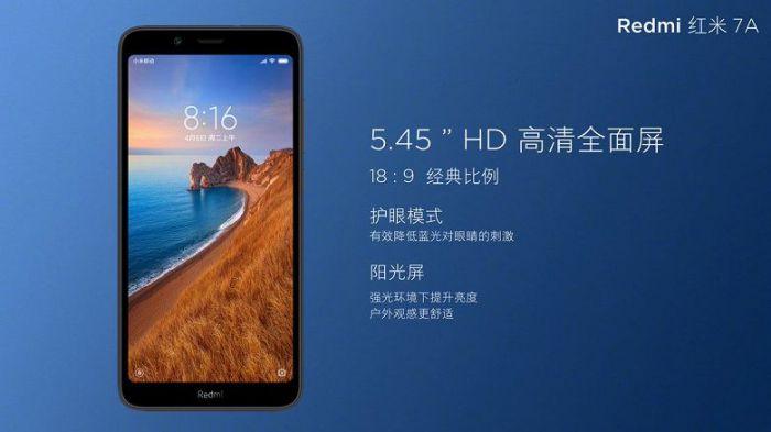 Промо-изображения Redmi 7A рассказали больше о смартфоне – фото 2
