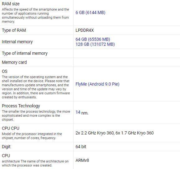 Рассекретили характеристики Meizu 16Xs – фото 5