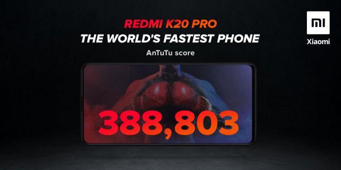 Redmi K20 Pro претендует на звание самого быстрого – фото 1