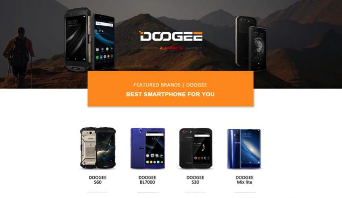Doogee MIX Lite, Doogee S60 и Doogee BL7000 — три разноплановые новинки – фото 1
