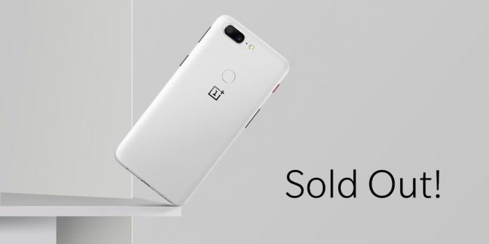 OnePlus 5T Sandsone был распродан всего за 2 часа – фото 2