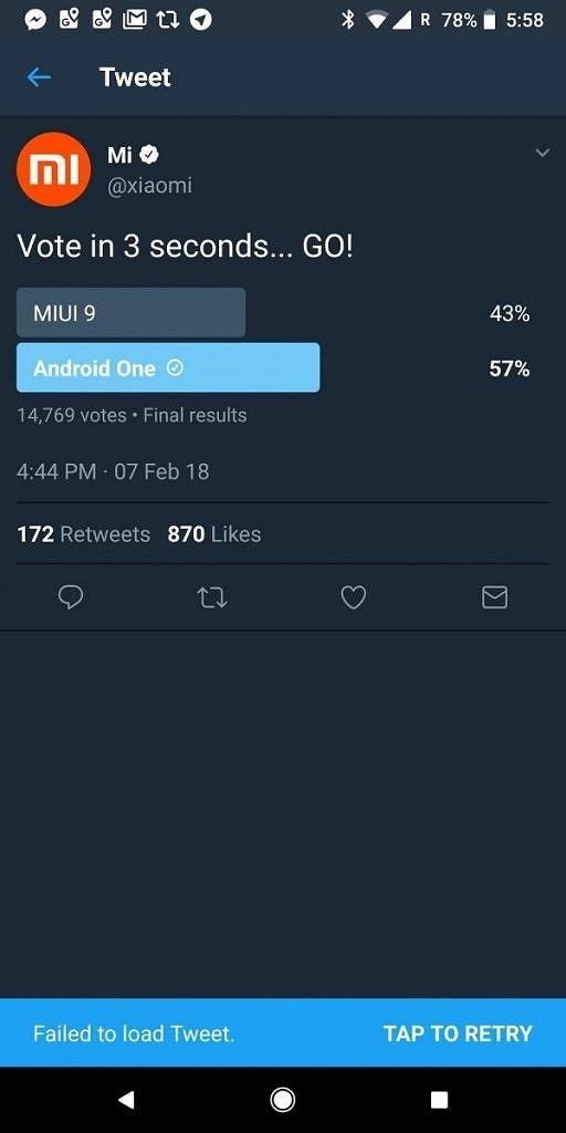 Xiaomi удаляет голосование, в котором MIUI проиграл Android One – фото 1