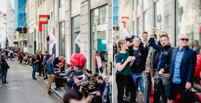 Поставка OnePlus 5 задерживается, и компания похвасталась фото с очередями за флагманом по всему миру – фото 3
