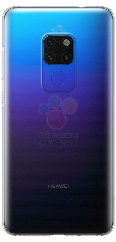 Фотографии чехла для Huawei Mate 20 Pro без разъема 3,5 мм – фото 1