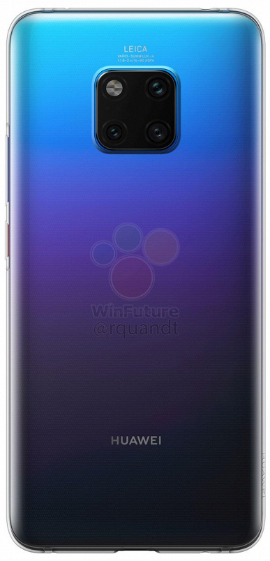 Фотографии чехла для Huawei Mate 20 Pro без разъема 3,5 мм – фото 2