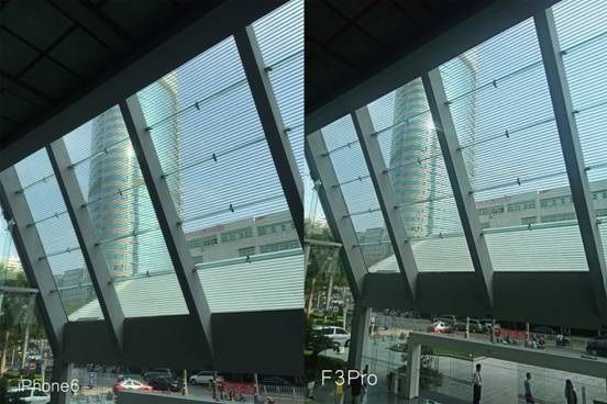 Doogee F3 Pro против iPhone 6 в сравнении тыльных камер