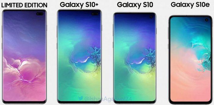 Все семейство Samsung Galaxy S10 показали вместе – фото 1