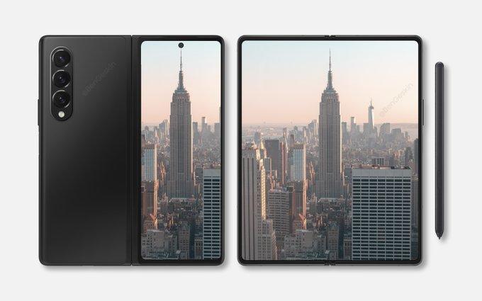 В сеть утекли промо-изображения Samsung Galaxy Z Fold 3 и Galaxy Z Flip 3 – фото 3