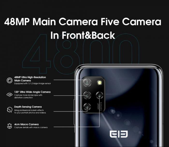 Вышел Elephone E10: доступный смартфон с NFC и Android 10 – фото 3