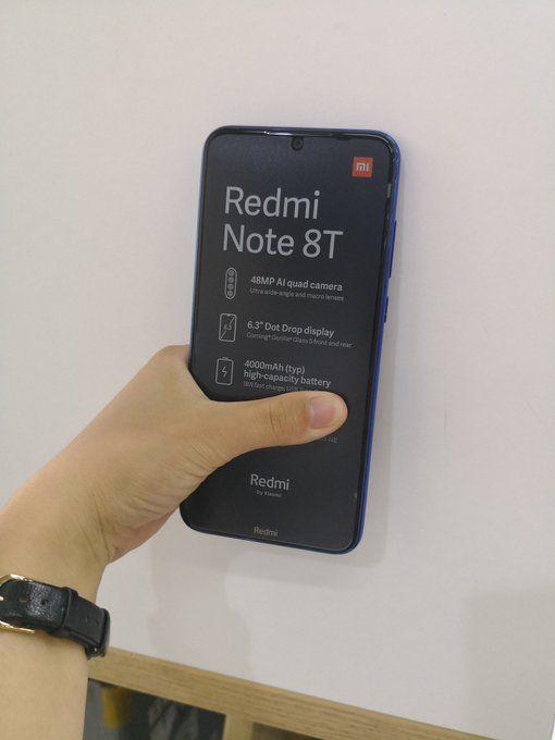 Распаковка Redmi Note 8T, подробности о характеристиках и цене – фото 1