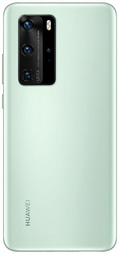 Huawei P40 Pro предложит новый цвет Mint Green – фото 1