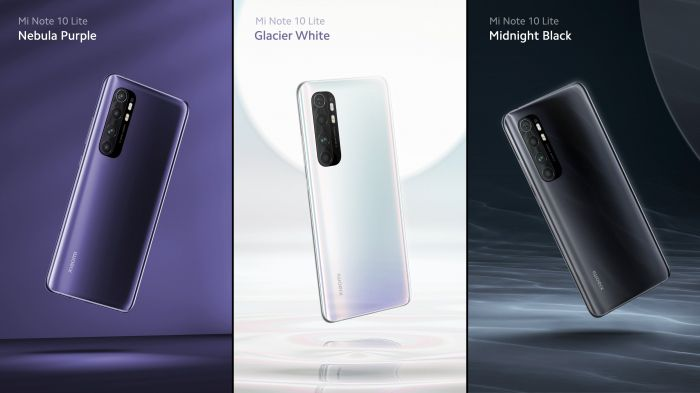 Купи Xiaomi Mi Note 10 Lite, Realme 6 и Huawei P40 Lite со скидкой – фото 1
