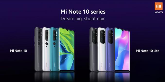 Xiaomi Mi Note 10 Lite: смотрим рендеры и узнаем дату премьеры – фото 1