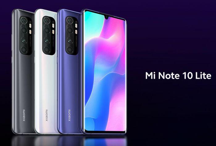 Xiaomi Mi Note 10 Lite: смотрим рендеры и узнаем дату премьеры – фото 2