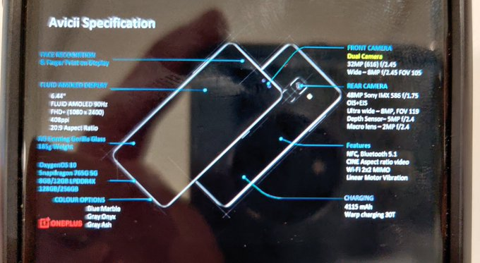 Слили характеристики OnePlus Nord. Источник надежный – фото 2