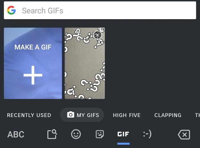 Теперь Gboard позволяет создавать свои эксклюзивные коллекции анимированных GIF – фото 1