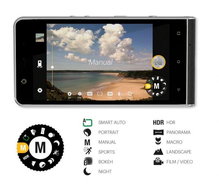 Kodak Ektra – дорогой камерофон с 21 Мп основной камерой и Helio X20 – фото 2