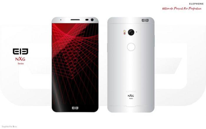 Дизайнер изобразил концепт безрамочного Elephone NXG – фото 1