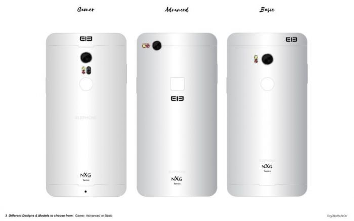 Дизайнер изобразил концепт безрамочного Elephone NXG – фото 2