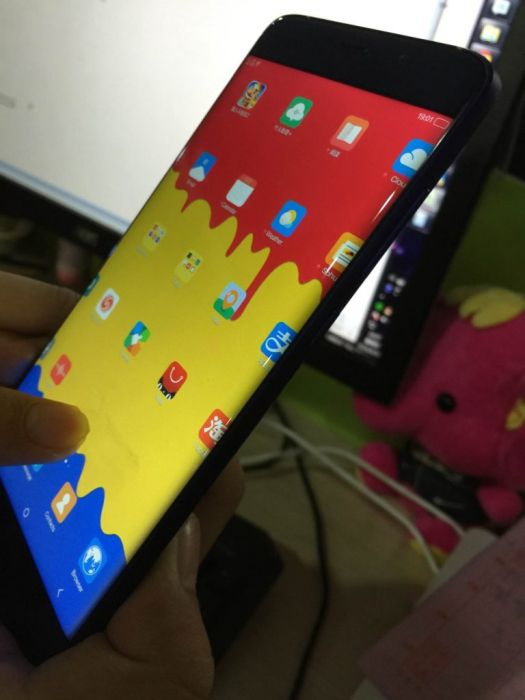 Elephone S7 показал свою фронтальную панель на фото – фото 1