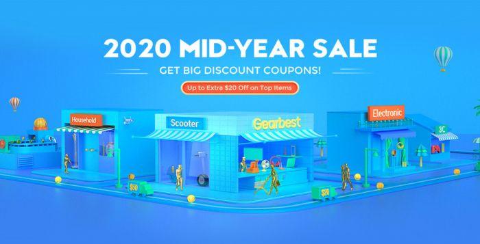 Большая летняя распродажа от Gearbest. Скидки до 50% – фото 1
