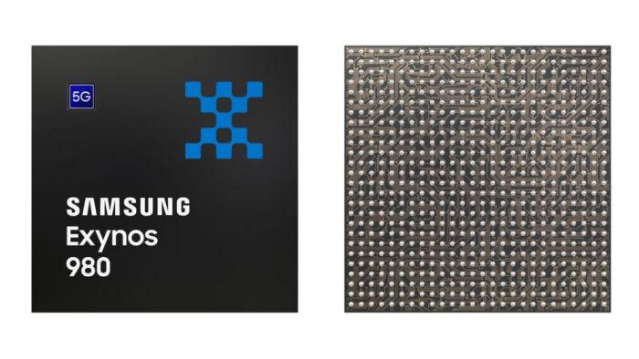 Представлен передовой 8-нм чип Exynos 980 со встроенным модемом 5G