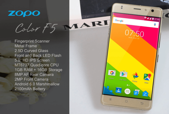 ZOPO Color C3, Color F2 и Color F5 – бюджетные новинки с 1 Гб оперативной памяти – фото 2