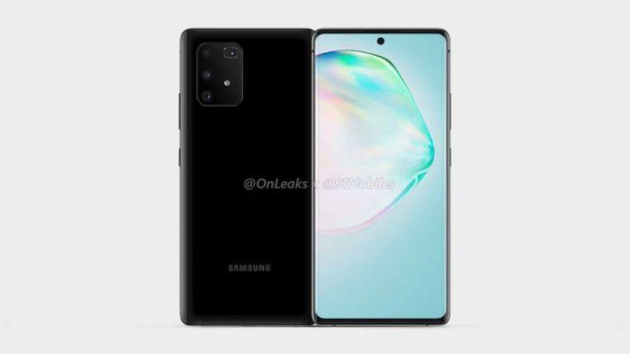Инсайдер показал дизайн Samsung Galaxy A91