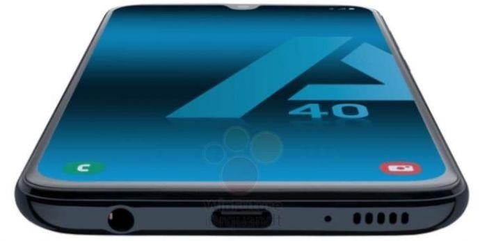 Samsung Galaxy A40 будет компактным для наших дней смартфоном с емкой батарейкой – фото 2