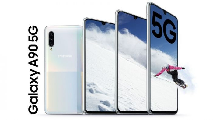 Анонс Samsung Galaxy A90 5G: Snapdragon 855, емкая батарейка и 5G – фото 1