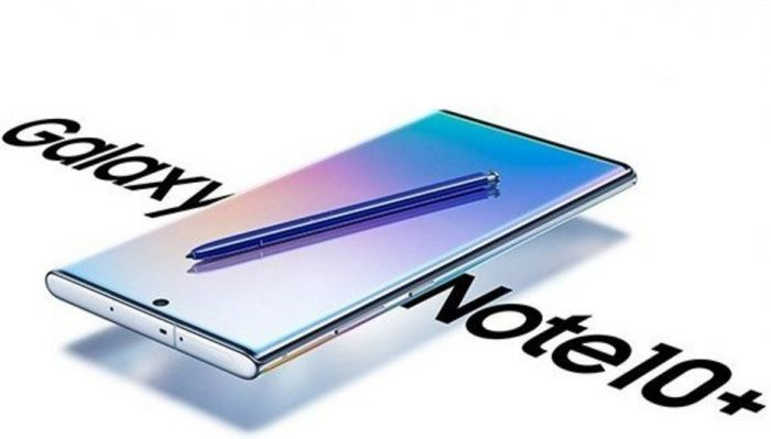 рендер Samsung Galaxy Note 10+