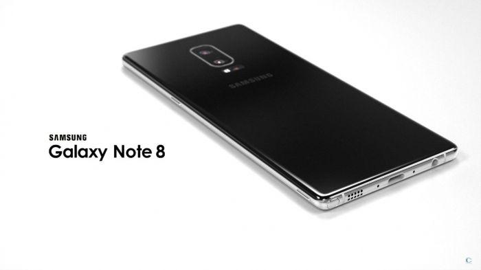 Реалистичный концепт Samsung Galaxy Note 8 – фото 1
