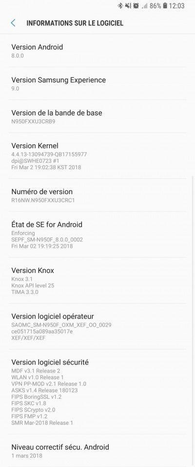 Samsung Galaxy Note 8 начал получать обновление до Android Oreo – фото 2