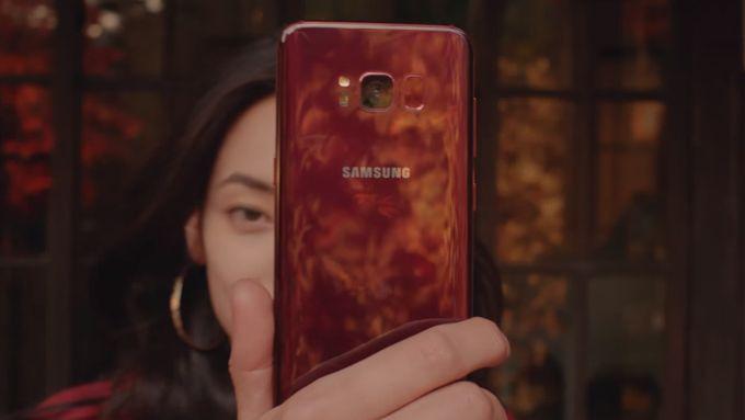 Samsung Galaxy S8 оделся в красный – фото 2