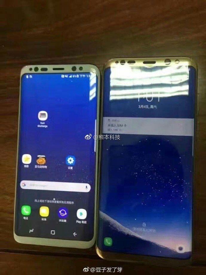 Samsung Galaxy S8 и Galaxy S8+ вновь засветились на шпионском снимке – фото 1