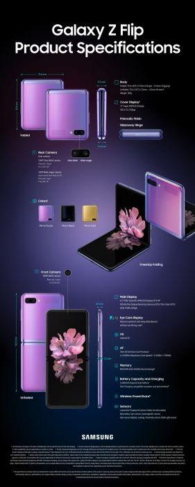 Анонс Samsung Galaxy Z Flip: первый с гибким стеклом – фото 5