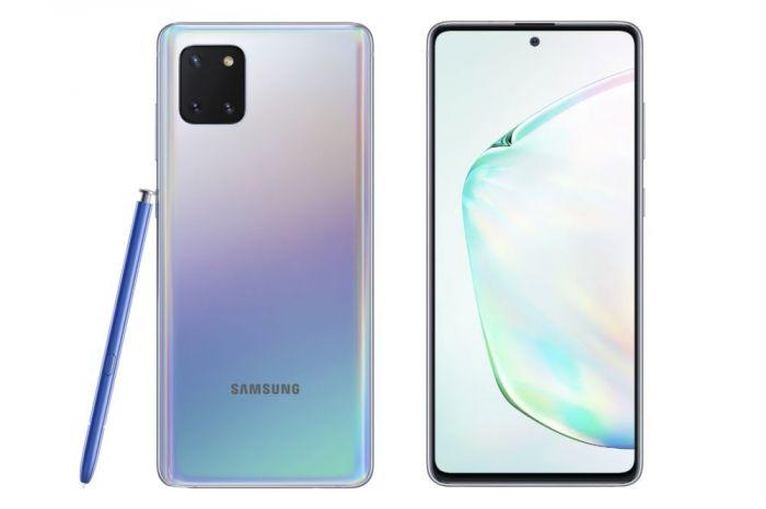 представлен Samsung Galaxу Note 10 Lite
