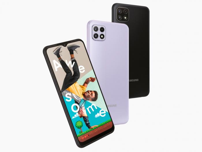 Представлены Samsung Galaxy A22 5G и Galaxy A22 4G – фото 1