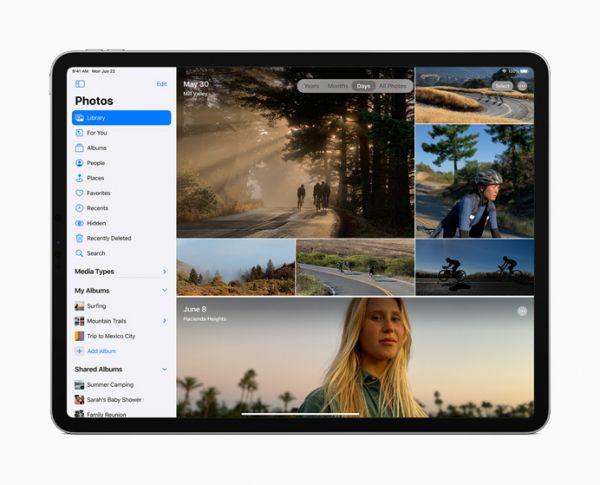 App Gallery iPad OS 14