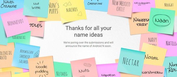 Google объявит финальное название Android 7.0/N в июне – фото 1