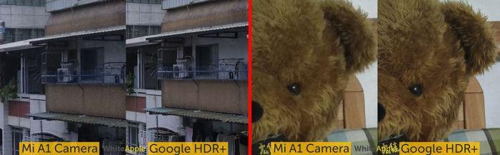 Установка Google Camera HDR+ и EIS на смартфоны Xiaomi Mi A1
