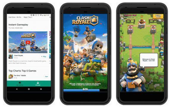 Google Play Instant позволяет играть в игры, не устанавливая их – фото 1