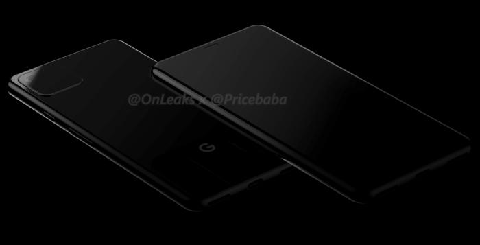 Рендеры Google Pixel 4 от известного инсайдеры. Это не тот смартфон, который нам демонстрировали ранее – фото 2