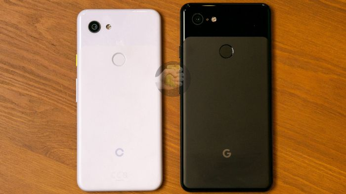Фотогалерея Google Pixel 3 Lite рядом с iPhone XS, Google Pixel 3 XL и прочими смартфонами – фото 2